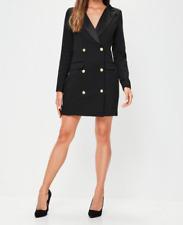 Black tuxedo long dress Size UK 12 rrp £40 DH097 GG 12