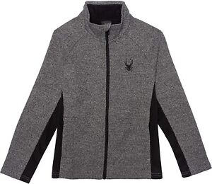 Spyder Boy's Youth Constant Full Zip Sweater Jacket, Color Options