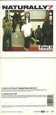 CD 2 TITRES - NATURALLY 7 : FEEL IT ( IN THE AIR TONIGHT ) / PHILCOLLINS GENESIS