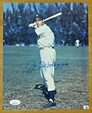 Joe DiMaggio NY Yankees Baseball HOF Signed 8x10 Photo with Full JSA Letter