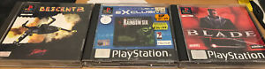 PS1 GAMES - 3 GAMES INCLUDING RAINBOW 6, ALL WITH INSTRUCTIONS - FREE POSTAGE