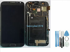 Samsung n7105 Galaxy Note 2 gris écran tactile affichage LCD verre touch screen
