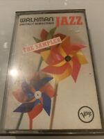Walkman Jazz The Sampler Paper Labels 1987 Cassette Tape