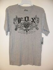"Fox Men's S/S T-Shirt ""Larger"" HEG - Size Small - NWT"