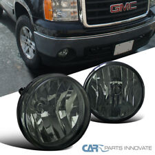 07-13 GMC Sierra 1500 2500HD 3500HD Smoke Fog Lights Driving Bumper Lamps+Switch
