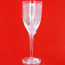 """ANGEL (Ange) Champagne Flute LALIQUE CRYSTAL 8"""" tall NEW NEVER USED OR SOLD"""