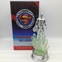 Rare Superman Hall of Heroes Statue Trophy Figure Kryptonite Gentle Giant 9 inch