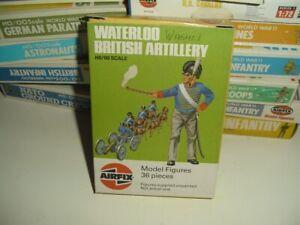 AIRFIX 1/72 S46 Waterloo British Artillery Langbox am Gussgrat VERY RARE !