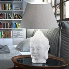 Luxus Schreib Tisch Lampe Arbeits Zimmer Keramik Buddha Asien Design Leuchte