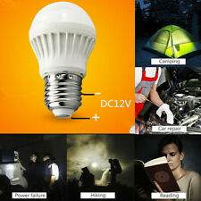 DC 12V 3W E27 6000K LED Bulbs Lamp Home Camping Hunting Emergency Outdoor Light