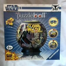 Ravensburger Junior Puzzle ball 96pc Star Wars The Clone Wars new sealed, 6+
