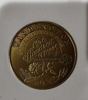 Washington State 1989 Centennial Large Medallion Medal Coin 100 Year Anniversary