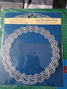 Tattered lace large decorative circles die set