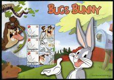 Singapur Singapore 2007 Looney Tunes Trickfilme Bugs Bunny Kleinbögen Folder MNH