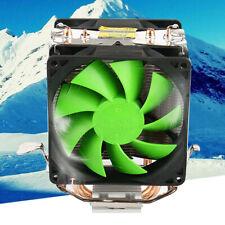 More details for silent dual fan cpu cooler heatsink for intel lga775/1156 amd am2/am3/am4 ryzen