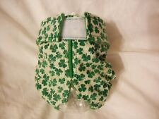Female Dog Puppy Pet Diaper Washable Pants Sanitary Underwear Shamrocks XXS