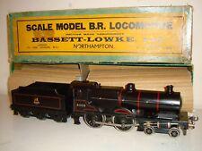 """Bassett Lowke""""O""""- 5302/0 4-4-0 Compound-41109-BR black(12vDC)excelnt/boxd c1955"""