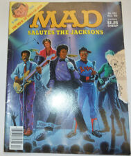 Mad Magazine Salue To The Jacksons Michael Jackson December 1984 032615R
