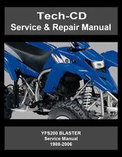 Yamaha Blaster YFS200 Service & Repair Manual YFS 200 1988-2006
