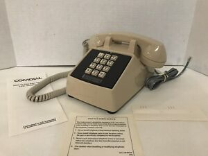Comdial Single Line Telephone NIB 2500-AS Rev B 11-92 Mfg. Desktop New
