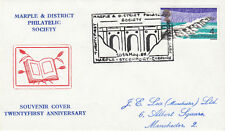 (05343) GB Marple Philatelic Society Cover 21 years Stockport 10 May 1968