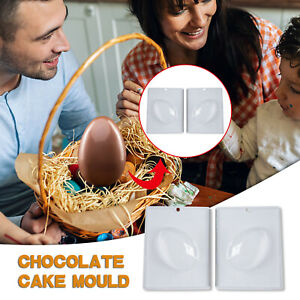 Easter Craft Mold 3D DIY Eggs Shape Cake Chocolate Mold Kitchen Baking Tools CH