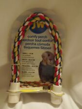 """JW Comfy Perch, Small-14"""" for parakeets & other small birds"""