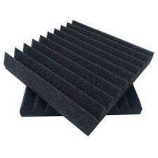 """6 Pack 12 X 12 X 2"""" acoustic sound foam studio panels 10 sharp wedges-Rem W5I1"""
