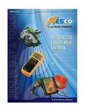 Nesco ELECTRICAL EQUIPMENT LOG BOOK NESEELB Suitable Safety Testing Of Equipment