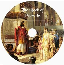 THE BOOK OF PROVERBS American Standard Version 2 Audio CD the sayings of Solomon
