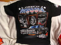 AMERICAN MUSCLE CAR ENGINE T-SHIRT
