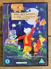 PAUL McCARTNEY THE MUSIC AND ANIMATION COLLECTION ~ GENUINE UK DVD VGC +FAST P&P