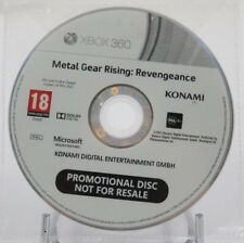 Metal Gear Rising Revengeance - PROMO only PRESS XBOX 360 euro Konami RARE