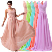 Formal Long Bridesmaid Dresses Prom Ball Gown Party Cocktail Evening Prom. Dress