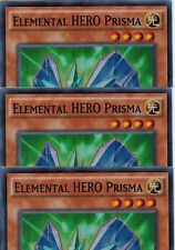 Elemental HERO Prisma FUEN-EN047 X 3 1st *English* YUGIOH