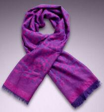 AGENT PROVOCATEUR Leo Purple Leopard Print Scarf BNWT