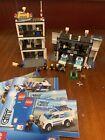 Vintage 7498 Lego City Police Station jail office car w/ instruction books