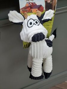 "Farm & Country Dog Toy W/Squeaker "" A Cow"""