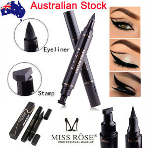 Miss Rose Eyeliner Winged Stamp Eye Liner Liquid Pencil Pen Vamp Cat Eye