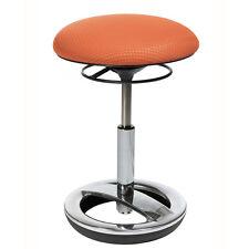 Büro-Hocker Bürostuhl Stehhilfe Drehstuhl Sitz Topstar Sitness Bob orange B-Ware