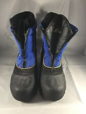 Itasca Royal Blue & Black Snow Stomper Boots - 806013 - Preowned