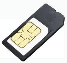2x ADATTATORE MICRO SIM CARD SCHEDA CELLULARE