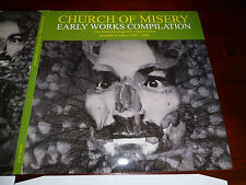 CHURCH OF MISERY - Early works trple Gatefold 3LPs lim. 500 copies SOLD OUT OOP