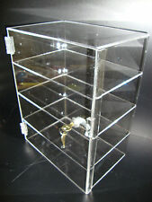 "Acrylic Countertop Display Case 12"" x 8"" x 16"" Locking Security Show Case Safe B"