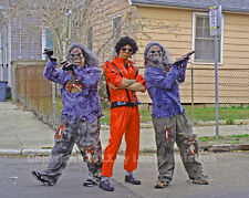 Michael Jackson Zombies, Mardi Gras 2008 NEW ORLEANS Photo SIGNED Louis Maistros