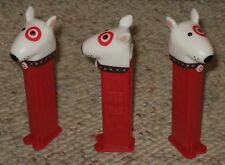 THREE (3) TARGET DOG LOOSE PEZ DISPENSERS MINT CONDITION! NO GIFT CARDS INCLUDED