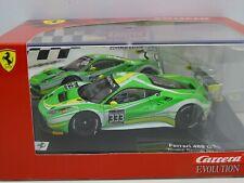 Carrera 27579 Evolution Slot Car Ferrari 488 GT3 Rinaldi Racing No.333