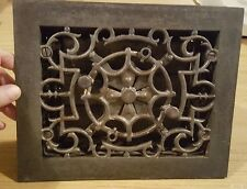 Lovely old victorian wall air grate