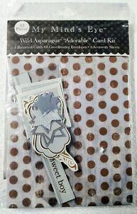 My Mind's Eye Wild Asparagus Card Kits
