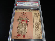 1950 Royal Pudding  Howdy Doody  #8  CLARABELL   psa A (308)